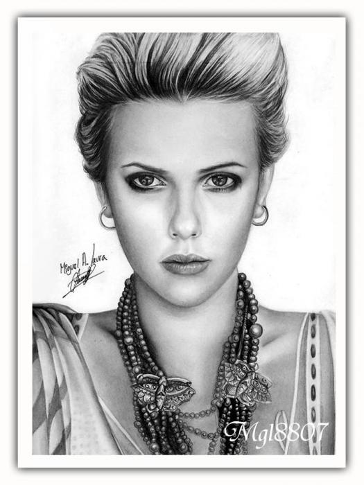 Scarlett Johansson by mgl8807